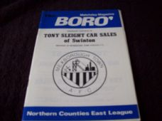 Mexborough Town v Southport, 1984/85 [FAT]